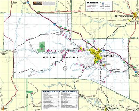 map of kerr county texas rm reliable electric kerrville tx 78028 electrician electrical contractor