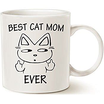 best cat mom ever mug amazon com funny cat gifts best cat mom ever rude cat