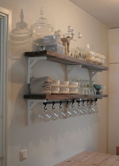 rustic plank shelves ikea shelf brackets rail  hooks