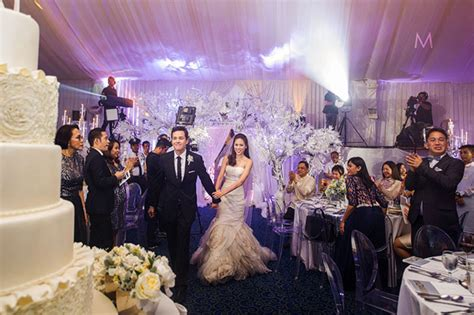 Wedding Reception Photos by Toni Gonzaga Wedding Reception Philippines Wedding