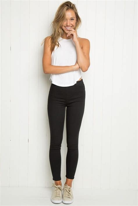 everyday outfit for women on pinterest brandy melville bexley pants just in casual