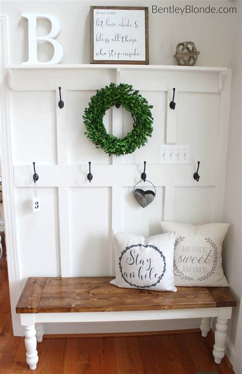 entryway bench ideas 25 best diy entryway bench projects ideas and designs