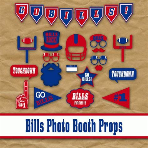 printable photo booth props football 17 best images about football printables on pinterest