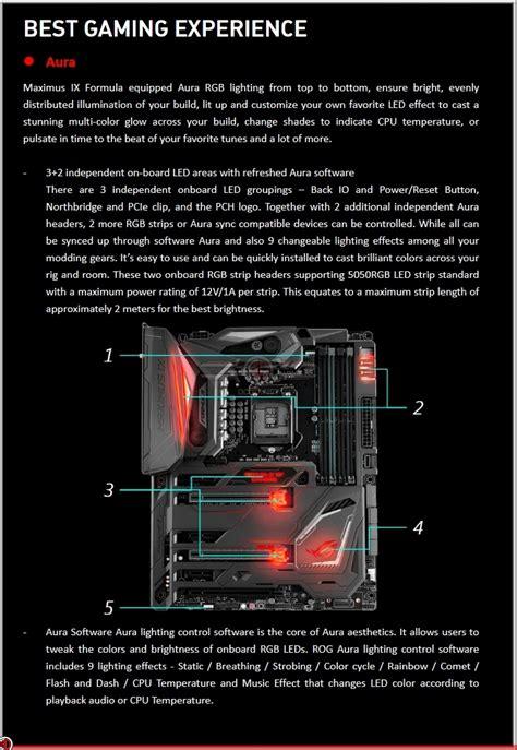 Asus Maximus Ix Code asus rog z270 maximus ix code and formula review