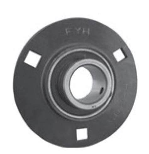 fyh sbpf206 30mm stamped round 3 bolts flanged mounted