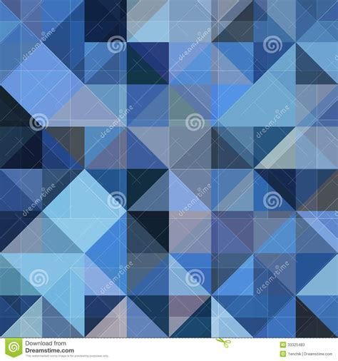 abstract geometric pattern blue abstract geometry blue vector grunge background stock