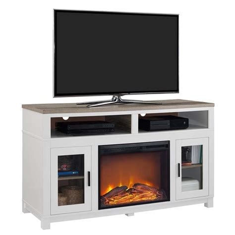 Electric Fireplace Tv Stand In White 1774296com White Fireplace Tv Stand