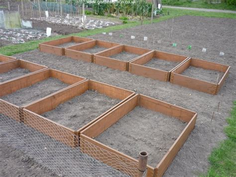 vegetable beds picture gallery of raised beds gardenfocused co uk