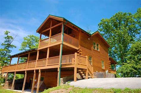 Cabin Rentals Tn by Black Lodge 4 Bedroom Vacation Cabin Rental In Pigeon