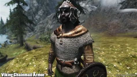 skyrim hothtrooper44 armor compilation skyrim mod feature viking chainmail armor by