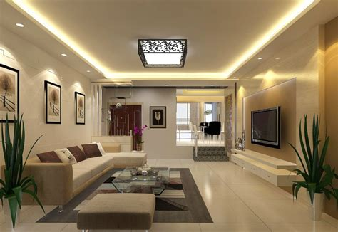 Interior Livingroom Modern Living Room Interior Decor Picture 3d House