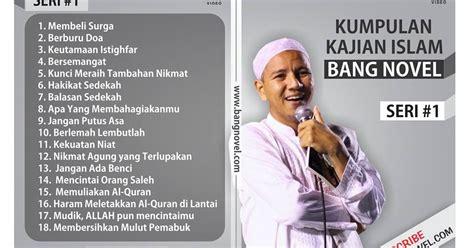 Dvd Kumpulan Mp3 Kajian Ceramah Paket 1 borong dvd kajian habib novel mp3