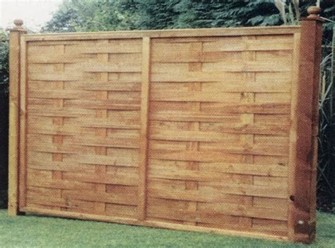 Shiplap Decking Interwoven Fence Panel Bingley Fencing Timber Fences