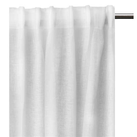gardinen faltenband dalsland gardine mit faltenband 145x290 weiss himla