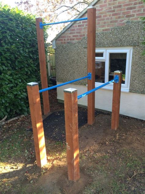 build a backyard pull up bar how to build an outdoor gym google search pull up