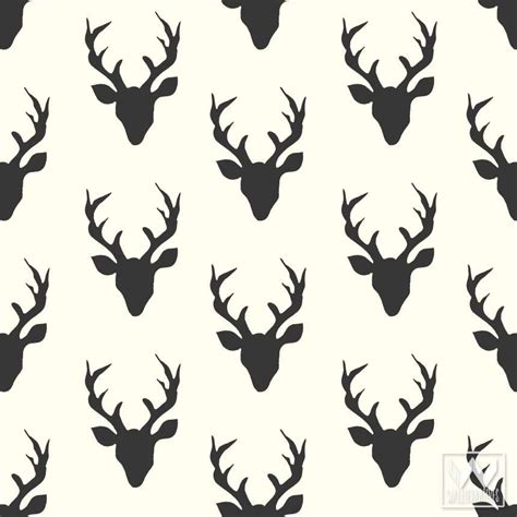 Stag Head Home Decor by Bonnie Christine Removable Wallpaper Amp Wall Decals