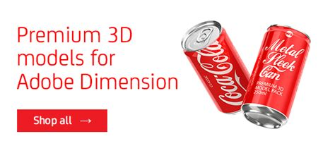 Adobe Dimension 3d Models