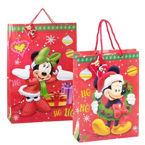 4 x childrens disney themed cartoon christmas xmas paper
