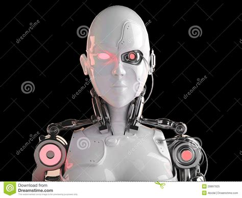 Android Vs Robot by Robot Android Royalty Free Stock Photo Image 28897925