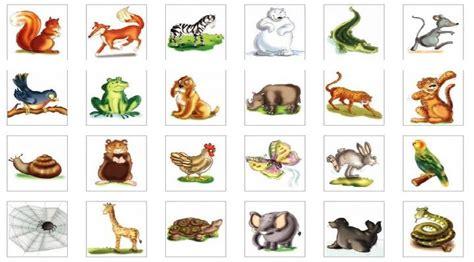 imagenes de animales salvajes y domesticos recursosmundoinfantil animales