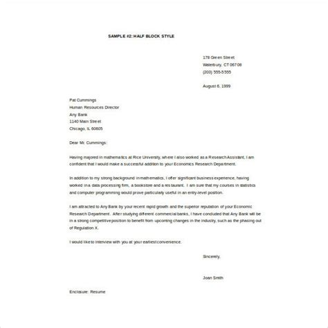 email cover letter template word documents