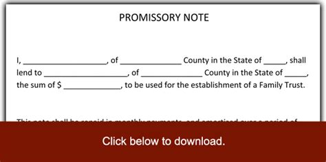 promissory note template pdf 6 promissory note templates excel pdf formats