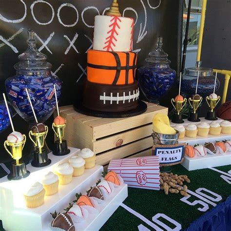 Sports Themed Baby Shower by 17 Best Ideas About Baby Shower Sports On