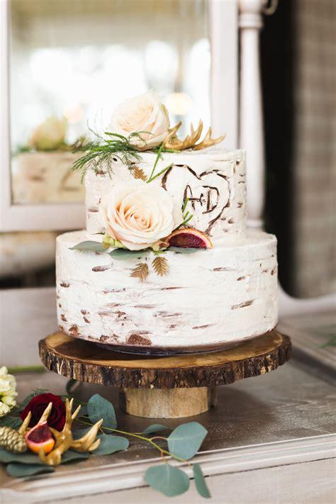 Hochzeitstorte Holz by Rustic Inspiration Rustikale Hochzeitstorten