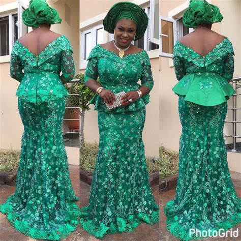 lace dress aso ebi style nigeria 236 best images about nigeria styles on pinterest