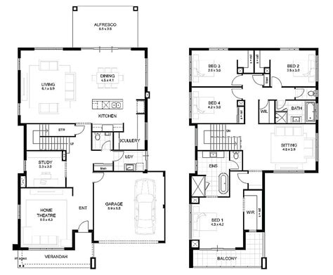 House Designs Perth Country Style House Designs Home Floor Two Story House Plans Perth