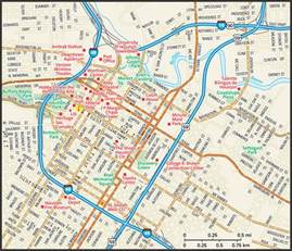 map of downtown houston houston map guide to houston
