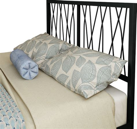 amisco size metal headboard 60 quot black coral