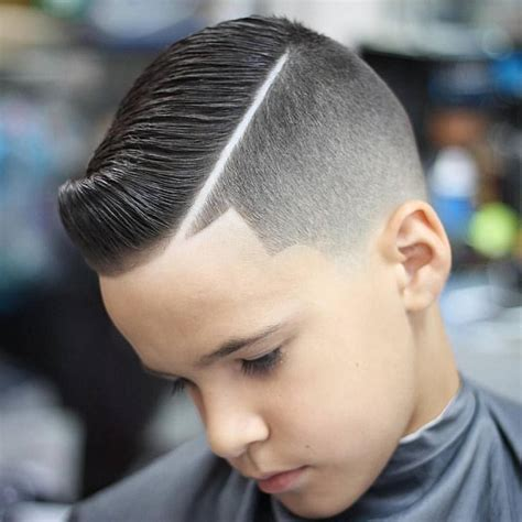 come over hair cuts for kids come over haircut hairstyle with line for babys hard part
