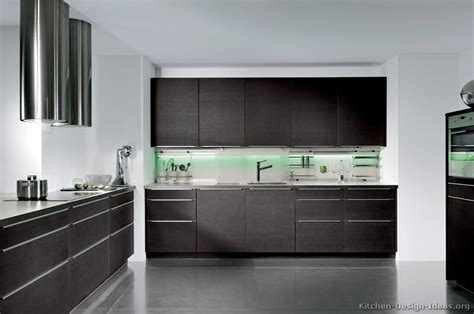 kitchen decorating ideas dark cabinets the wall the pictures of kitchens modern dark wood kitchens