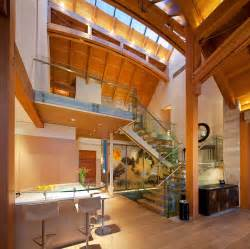 This stunning contemporary timber frame mountain home in the kadenwood