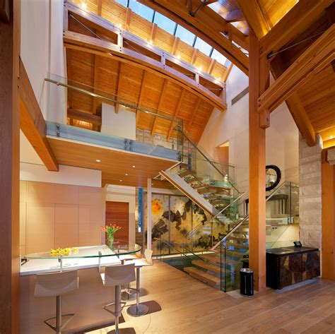 home interior frames luxury timber frame mountain retreat in whistler idesignarch interior design architecture