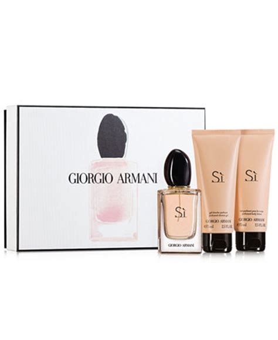 Harga Giorgio Armani Si Gift Set giorgio armani s 236 gift set shop all brands macy s