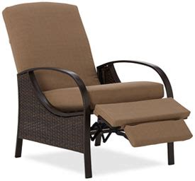 Outside Recliner Chairs by Strathwood All Weather Wicker Seating