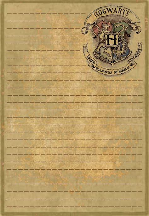 hogwarts letterhead stationery sinome rae deviantart