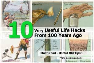 10 very useful life hacks from 100 years ago diy tips