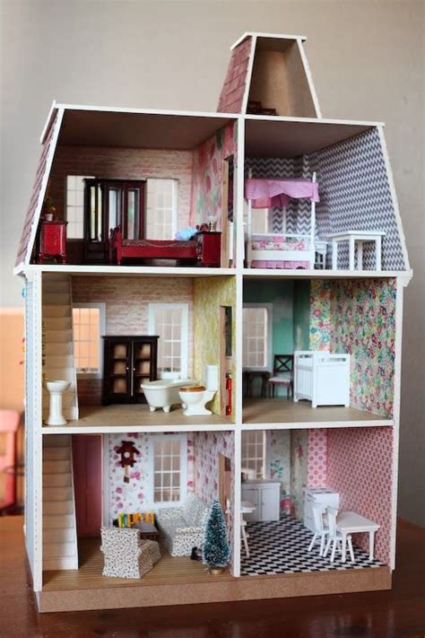 diy dollhouse wallpaper wallpapersafari
