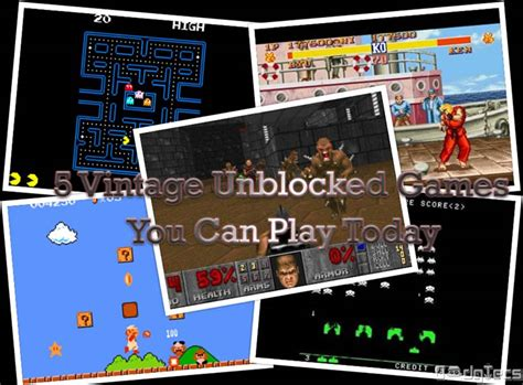 you can play 5 vintage unblocked you can play today