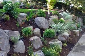 sloped rock garden ideas beautiful sloped rock garden to