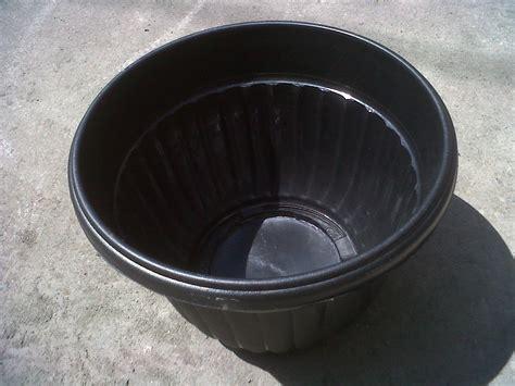 Baskom Plastik Ba 5 jual pot bunga plastik 30 cm warna hitam harga murah