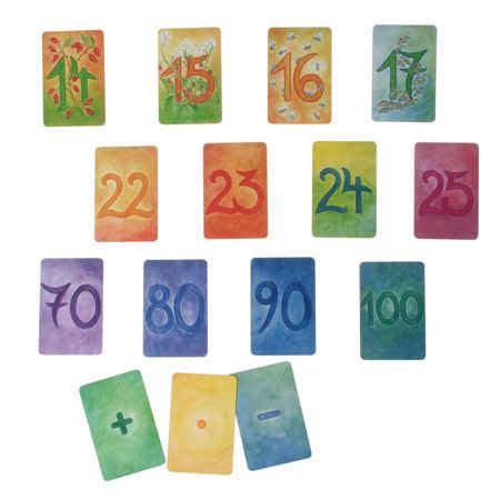 2 supplementary numbers number card supplementary set 48 cards