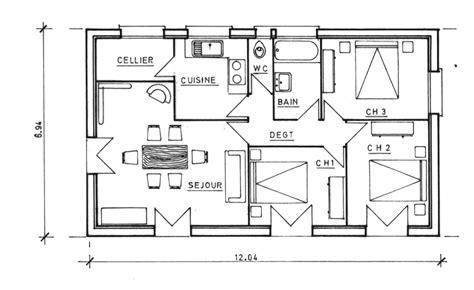 Plan De Maison Gratuit by Plan De Construction De Chalet Gratuit