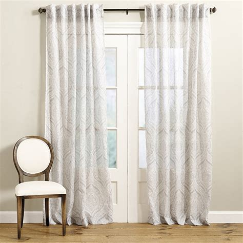 ballard designs drapes brenton sheer drapery panel ballard designs