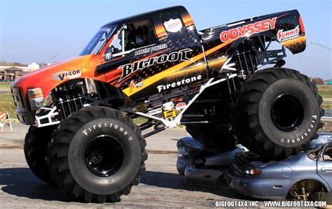 bigfoot electric monster truck image gallery monstertruck