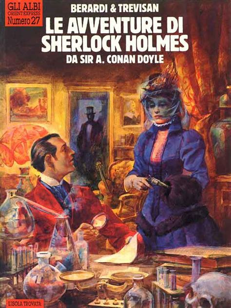 la libreria mistero episodi sherlock di giorgio trevisan un fumetto d autore