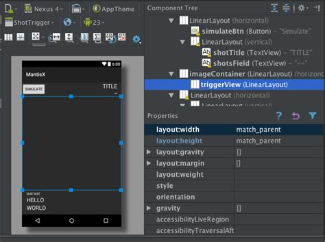 android layout weight not work in scrollview android match parent not working as expected layout